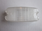 Nr: 101-0013- Trabant 601- Index búra fehér- Blinkerkappe weiß- Glass indicator white- 4 EUR
