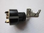 Nr: 101-0023- Trabant 601- Gyújtáskapcsoló kulcsos 4 lábú- Zündschalter 4- Ignition switch- 16 EUR