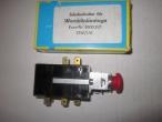 Nr:501-0058 -Barkas -Vészvillogó kapcsoló -Schubschalter -Hazard lamp switch -12EUR